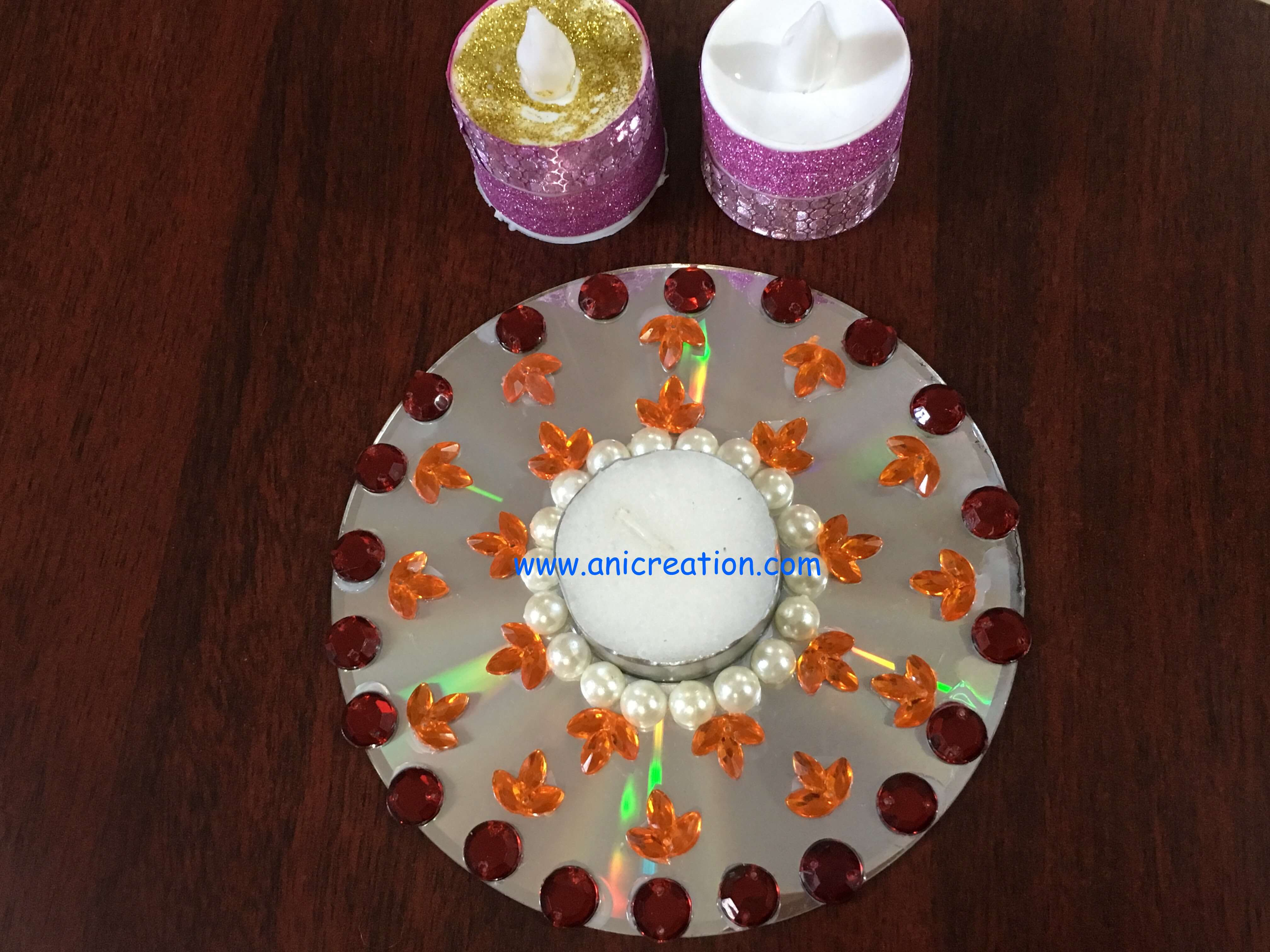 Easy Diwali Light Decoration