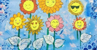 Bring on Sunshine – Mixed Media Art Journal