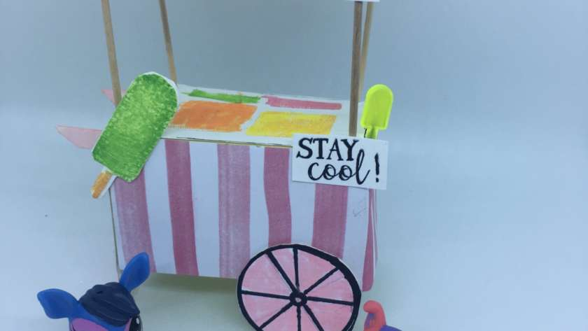 Littlest Pet Shop Ice Cream Cart